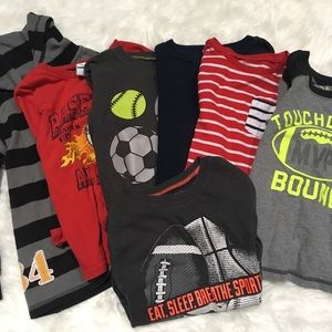 Shirts & Tops - Set of 7, boy's 5T Long sleeves